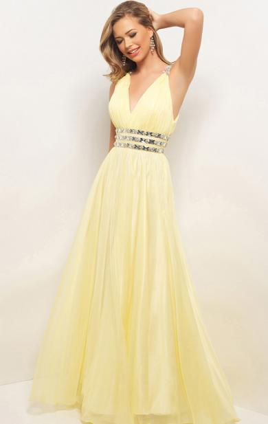 hot sale long yellow prom dress offered by queenieprom