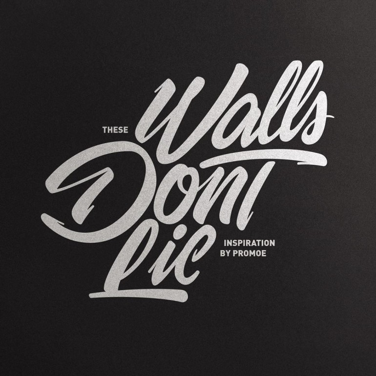 These walls don't lie inspired by @promoedvsg