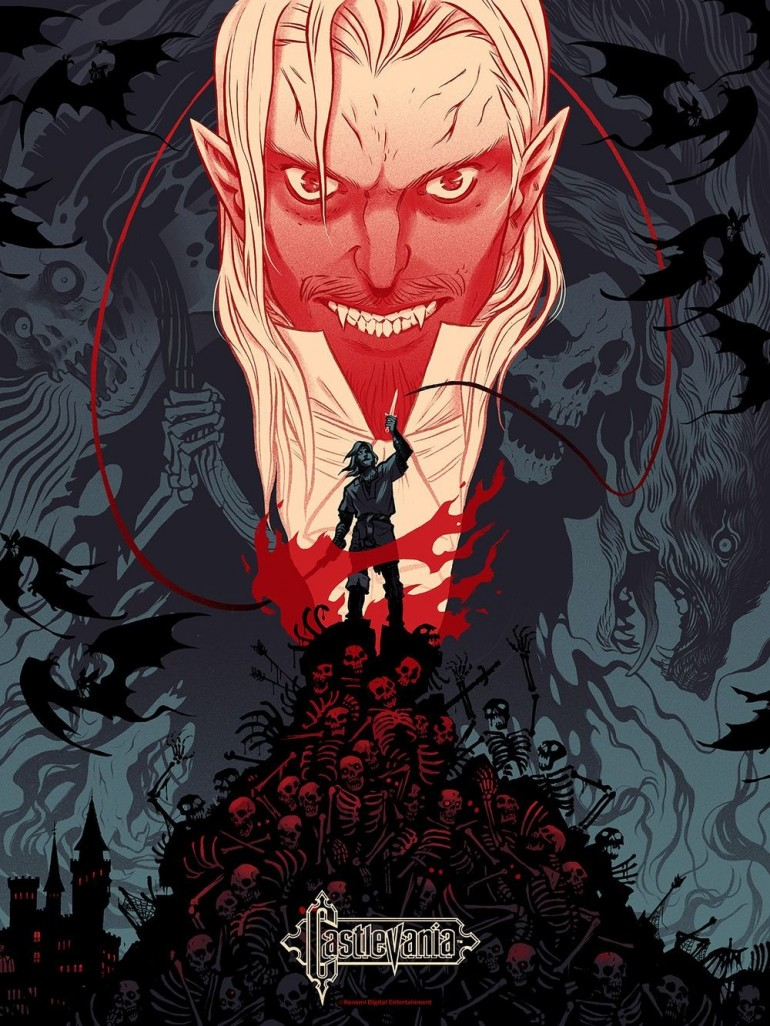 Gorgeous 'Castlevania' and 'Silent Hill' posters make us miss Konami