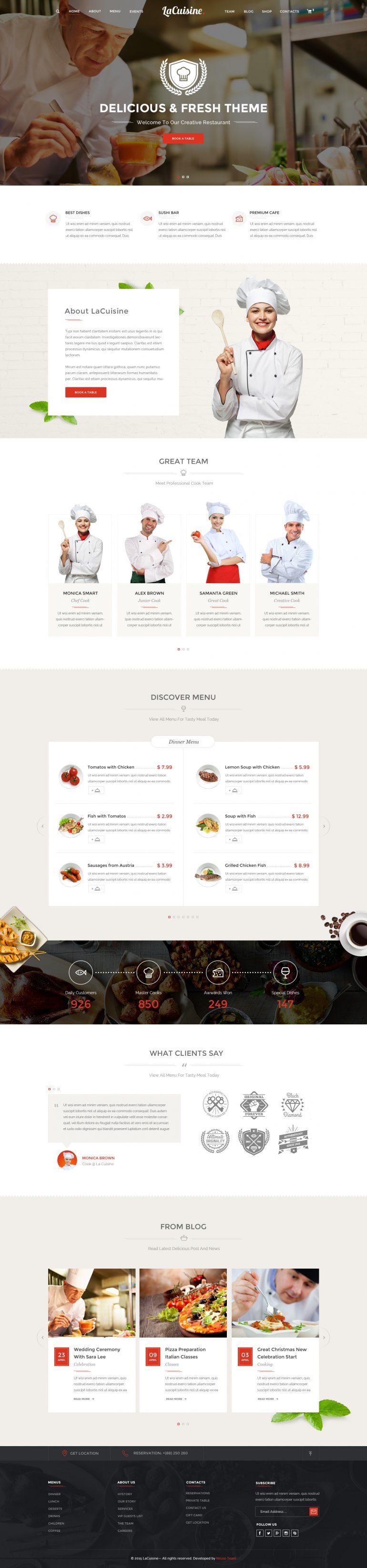 LaCuisine – Restaurant / Cafe