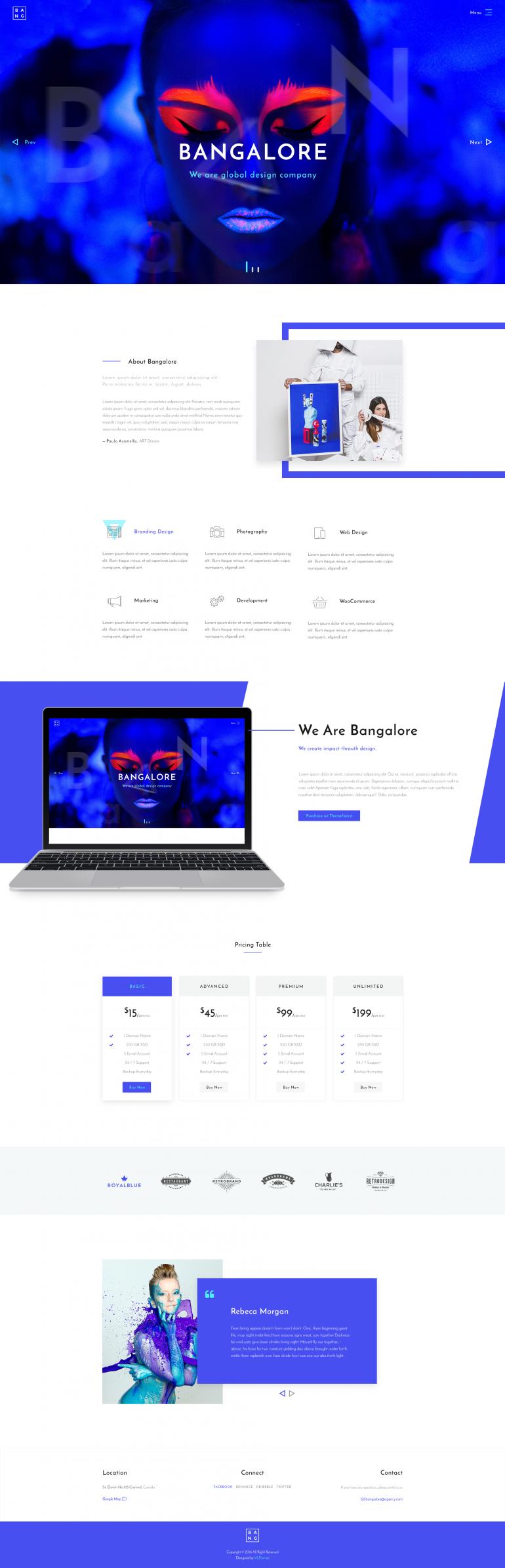 Bangalore – Agency & Portfolio