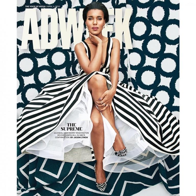 Kerry Washington – ADWEEK  Cover Image