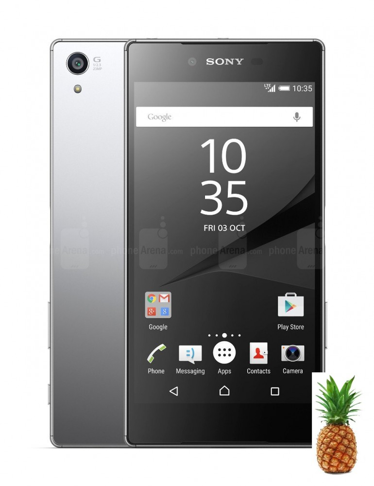 Sony Xperia Z5 Premium The glass is fingerprint magnet but it is easy to clean by any cloth, the ...