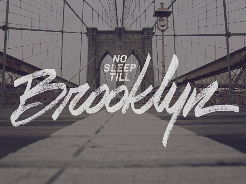 No Sleep Till Brooklyn by Diego Guevara