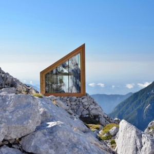 OFIS constructs alpine shelter for climbers of skuta mountain