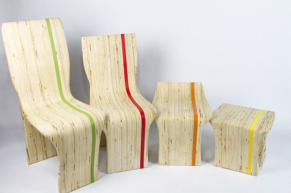 Over The Top nesting chair by Lynn Yuhan Lin