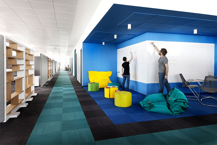 Paysafe Office Space in Sofia – #office, #interior,