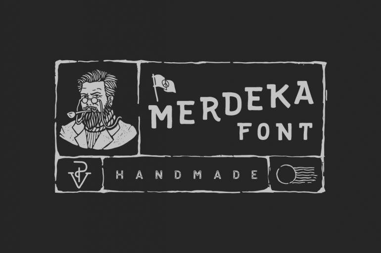 Merdeka Font