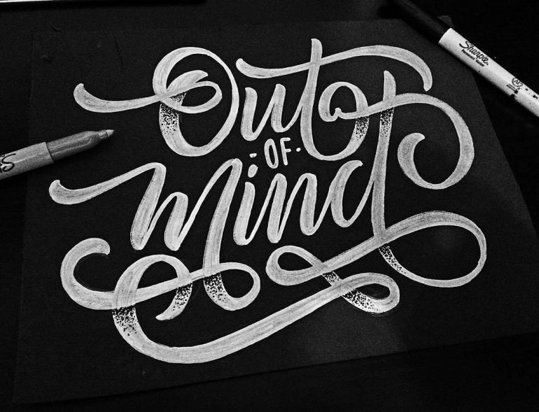 Out of Mind by @champolatype