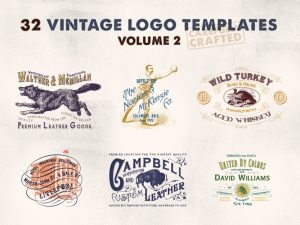 Vintage Logo Templates – Vol.2