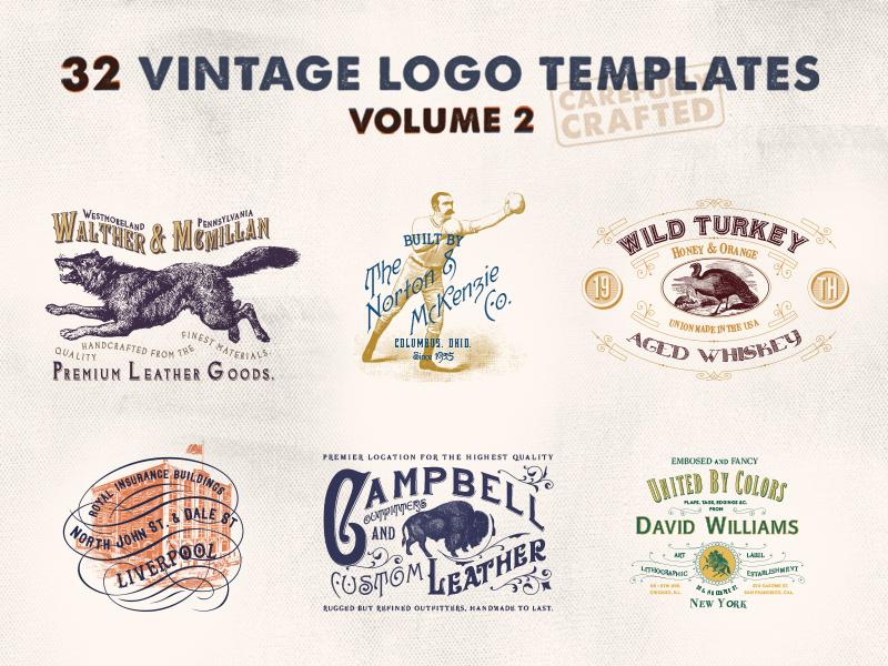 Vintage Logo Templates – Vol.2
