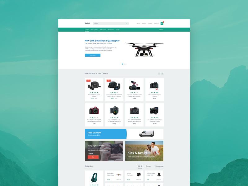 Zelvit Website Template