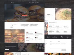 Altius Restaurant is an One Page website layout concept specially created for Bar, Restaurants,  ...