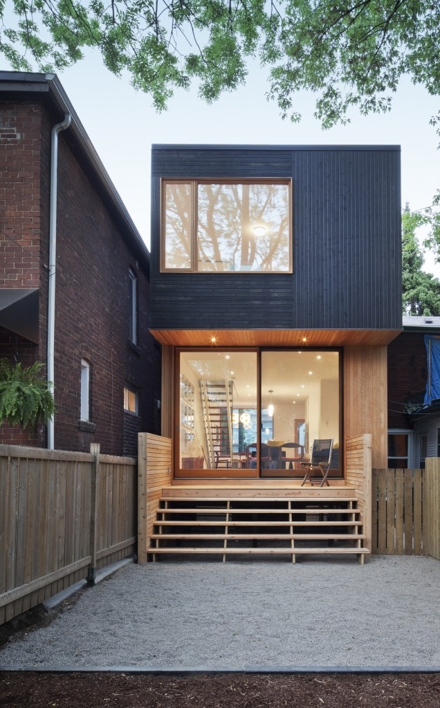 An affordable modern Toronto house.