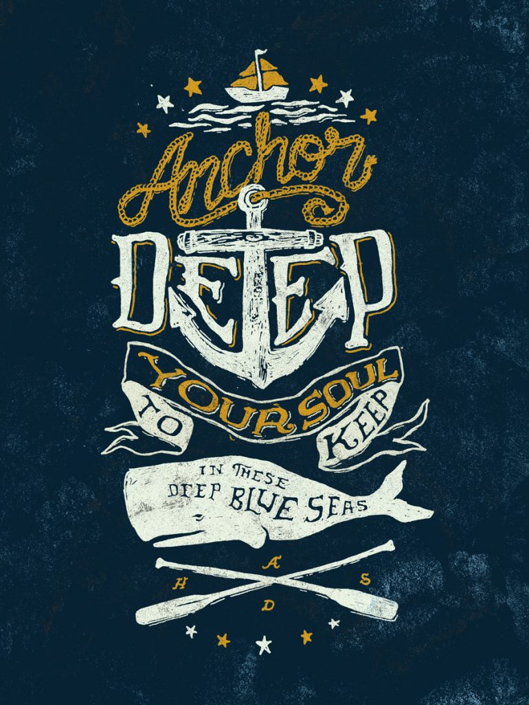 Anchor Deep by Nathan Yoder