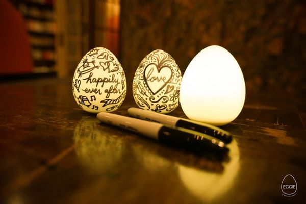 Eggie light will create you a peaceful and enjoyable night