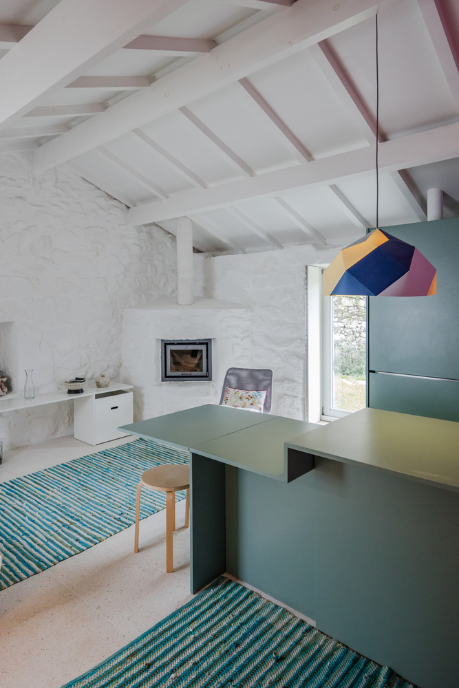 1699 Farmer House Redesigned for Modern Rural Tourism