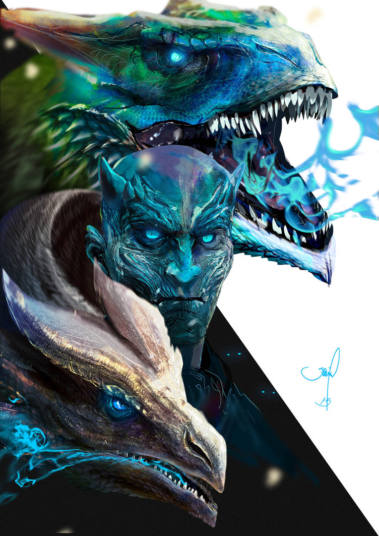 Game of Thrones – Night King by danielgrell23