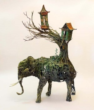 Incredible Fantasy Sculptures by Ellen Jewett
