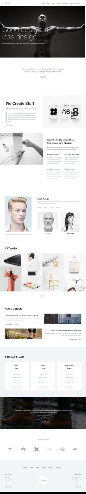 Kora – Portfolio, Agency