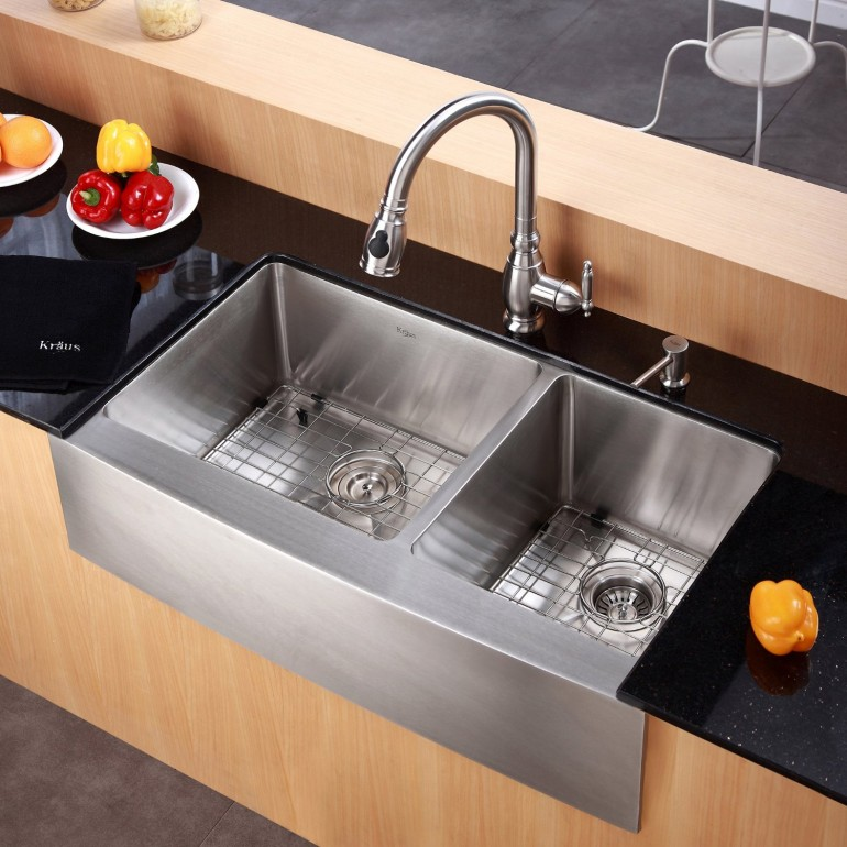 Kraus KHF203-36 should be on your list, when you are choosing the next kitchen sink.
