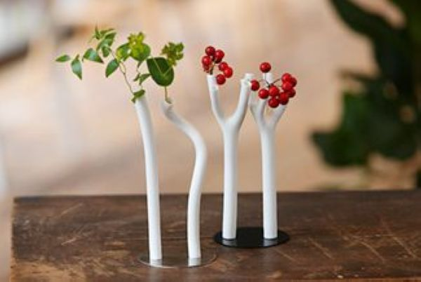 Neo+, unconventionally shaped vase