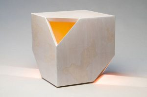 Nugget Hollow tea table by HUXHUX Design
