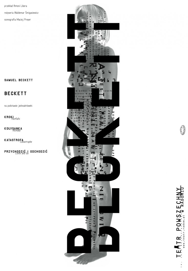 Beckett teatr powszechny in radom by lech majewski for Pool design company radom polen