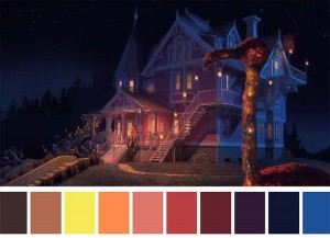Tweeter Posts Color Palettes from Popular Movie Scenes
