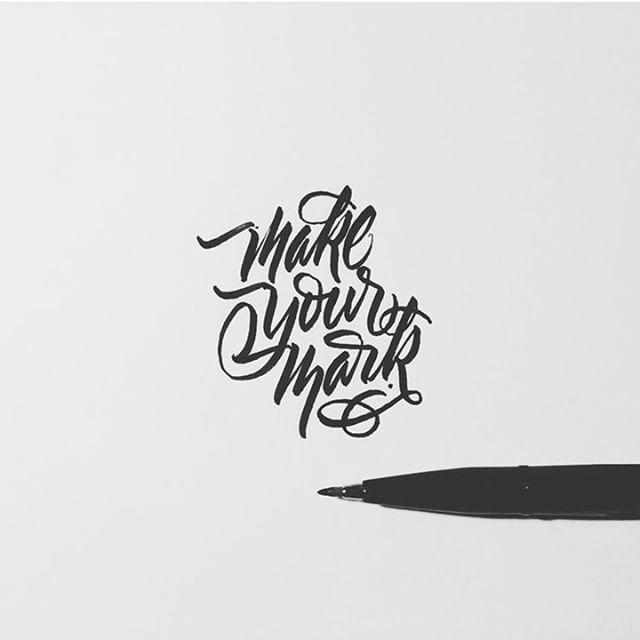 Make your Mark. Artwork