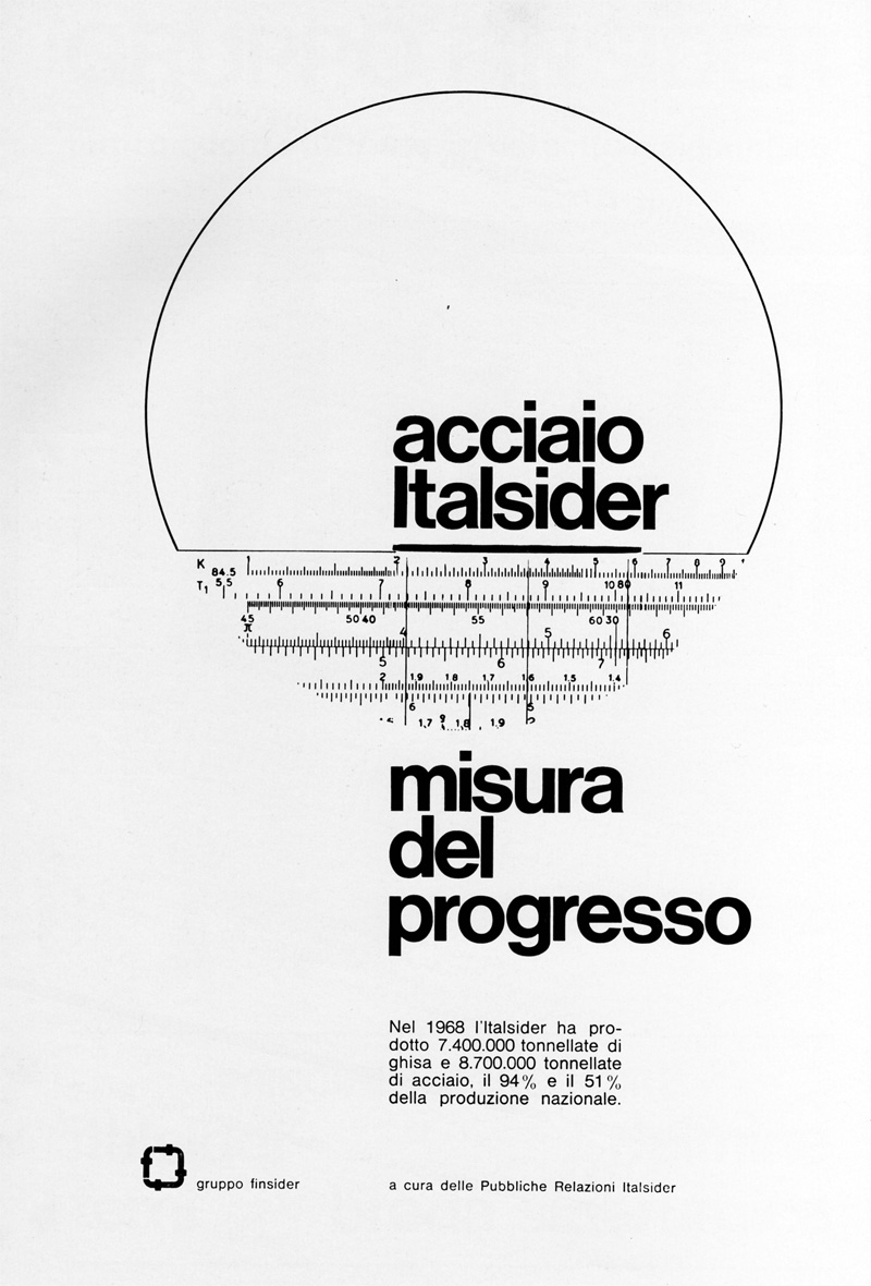 1960s Advertising – Magazine Ad – Italsider (Italy)