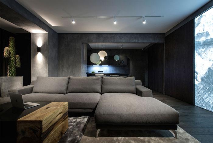 Dark Interior Design by YoDezeen