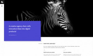 Gem – A Minimalist Template for Professionals – Creative Site Templates Live Preview ...