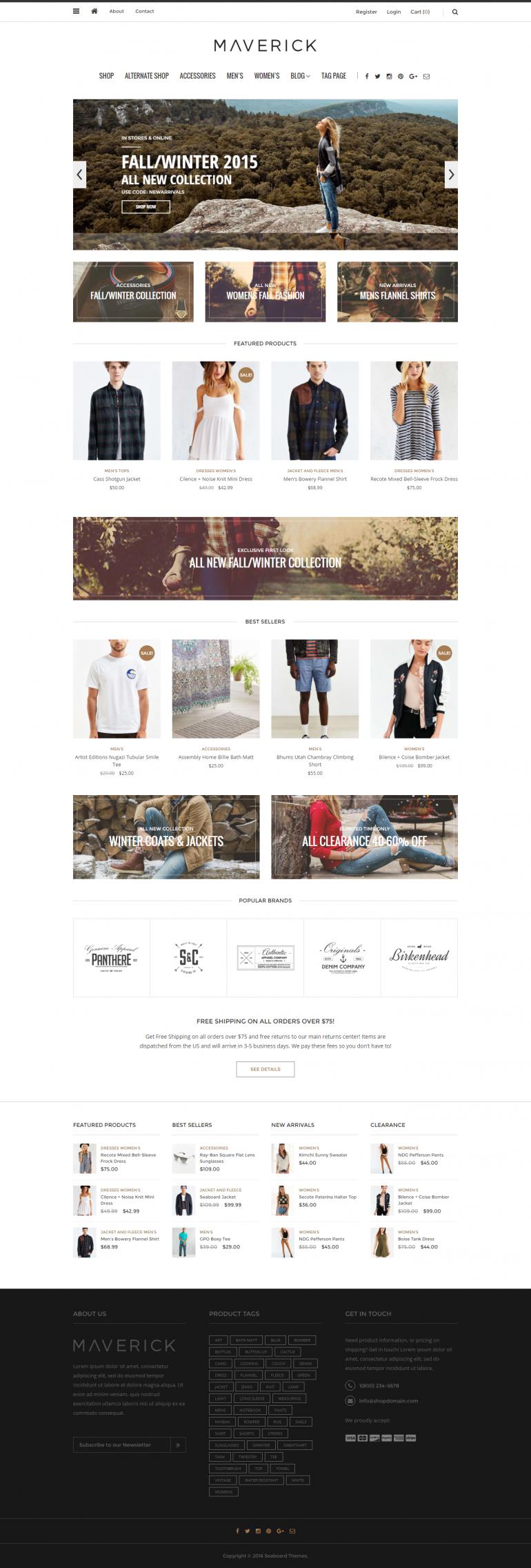 Maverick – Blog, Magazine and Shop