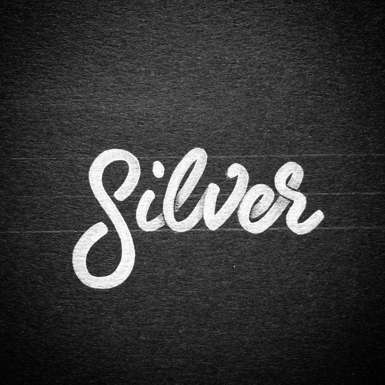 Metallic Type – Silver