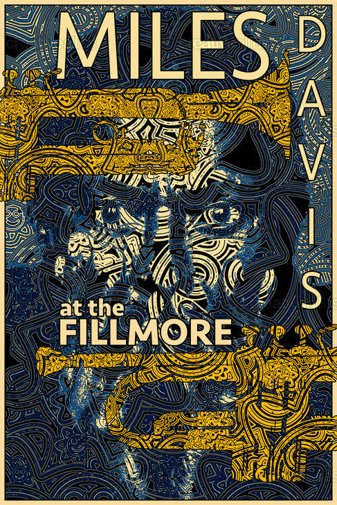 Miles At The Fillmore Poster by Oliv