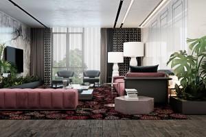 Luxury Apartment by Iryna Dzhemesiuk and Vitaly Yurov