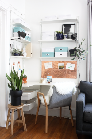 Scandinavian Workspace Makeover — The Reveal