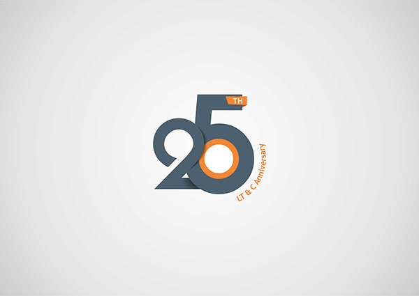 25th Anniversary Logo Design