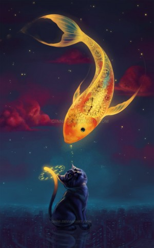 To Catch A Moon-Fish by Qinni