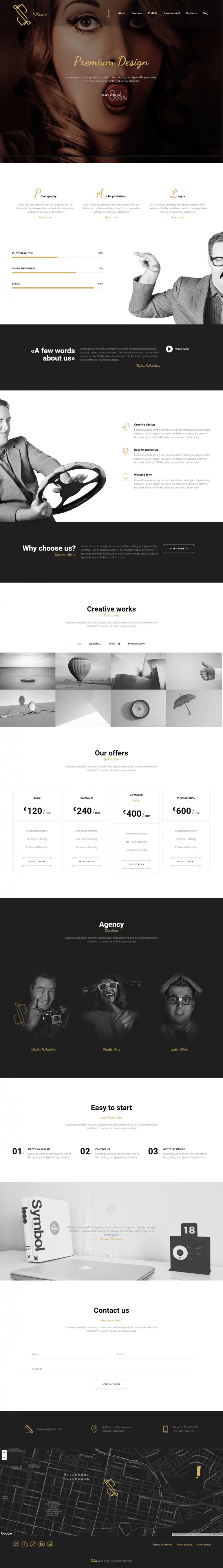 Silvana – Creative Agency