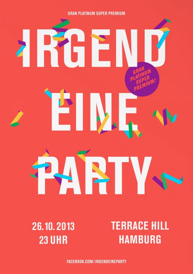 2013, Irgendeine Party