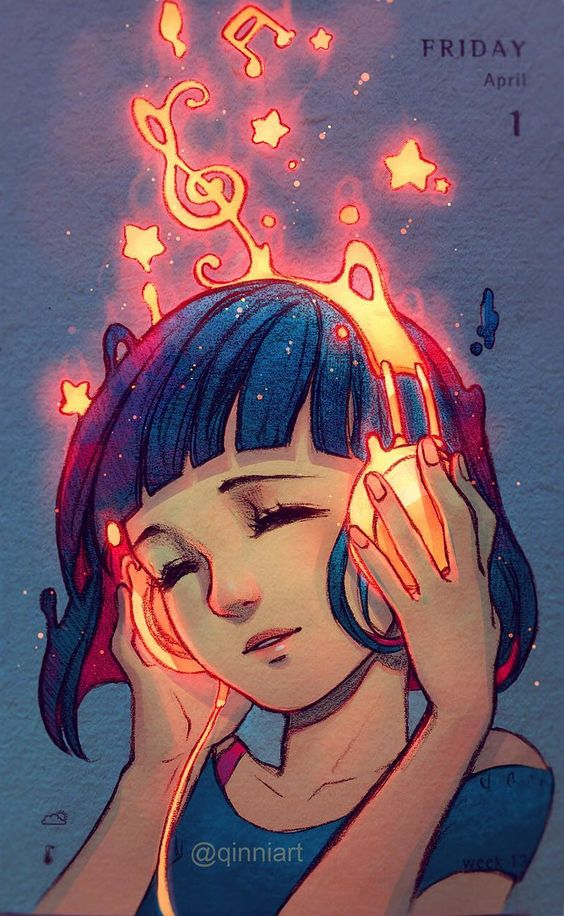 Burning Qinni Pencil & Digital 2016