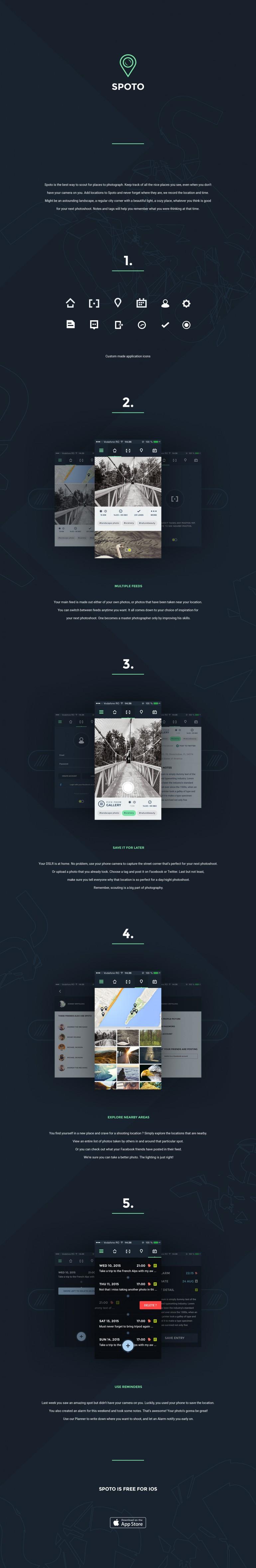 Spoto iOS App