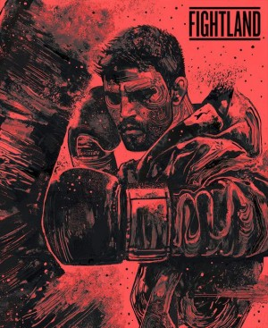 """Natural Born Killer"" Carlos Condit artwork by Gian Galang"
