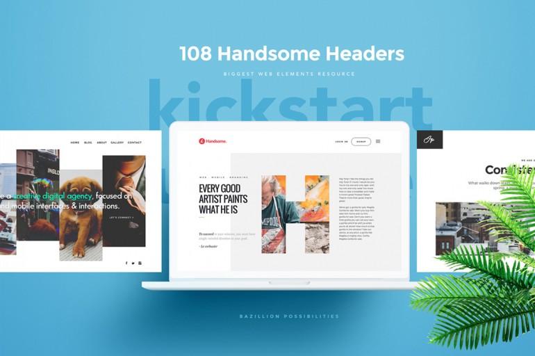 108 Handsome Headers