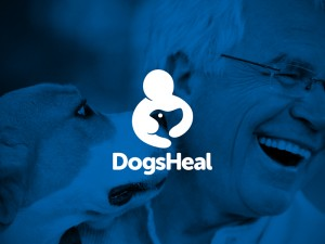 Dogs Heal Logo by Brian Leiter