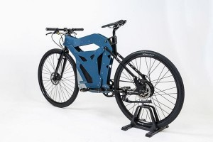 Electric bicycle designed specifically for commuters