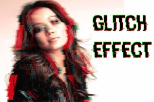 Glitch Effect in Photoshop