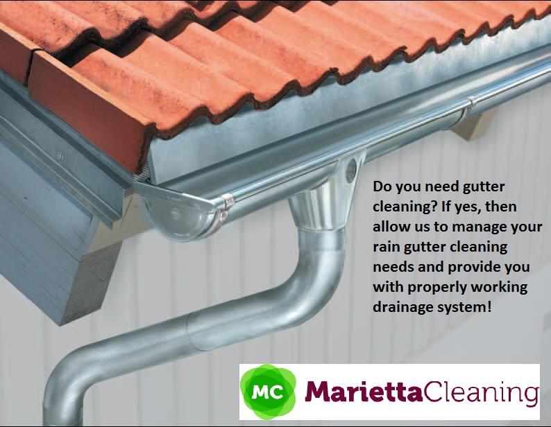 Gutter Cleaning in Marietta GA